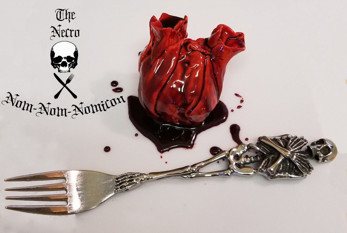 heart and fork