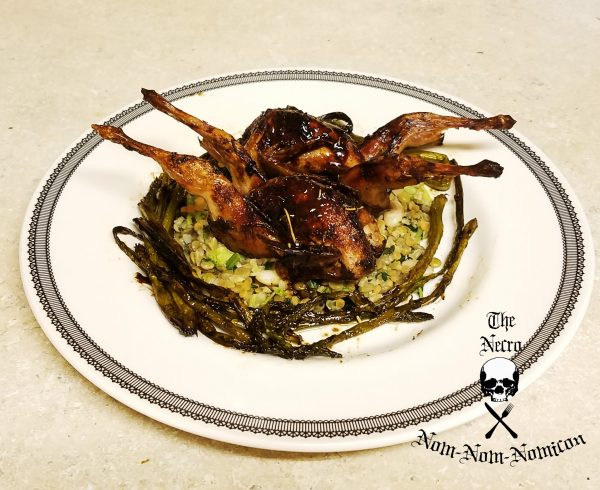 The last supper eat the dead halloween food and horror recipes halloween recipe oven roasted imps with balsamic and honey glaze ccuart Image collections