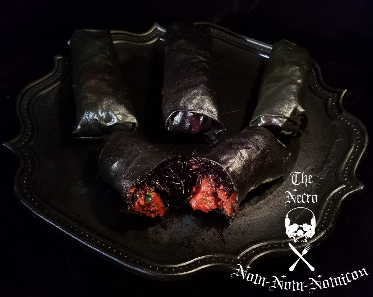 Halloween Recipe: Hell's Fury Curry Rolls