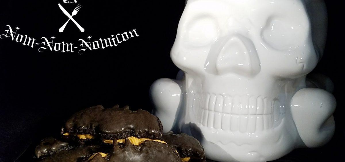 Halloween Recipe: Chocolate Bat Macarons with Pumpkin Spice Butter Cream